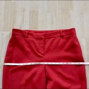 Anne Klein Pants - Anne Klein fire engine red dress pants trousers 10